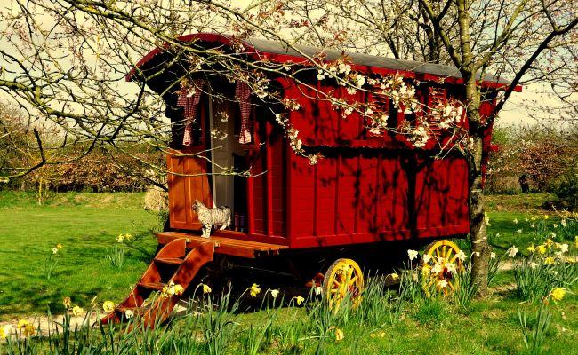 Modern Gypsy Caravans Beautiful Hand Built Caravans