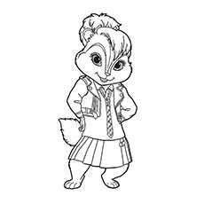Top 25 Free Printable Alvin And The Chipmunks Coloring