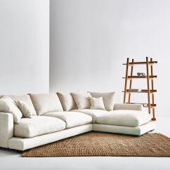 Ivory Sofa Set Bed Under 100 Long Beach Cream Corner Up Wood Legs