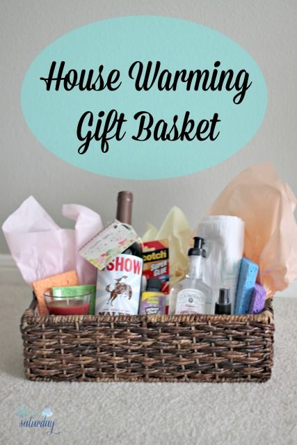 House Warming Gift Basket Ideas
