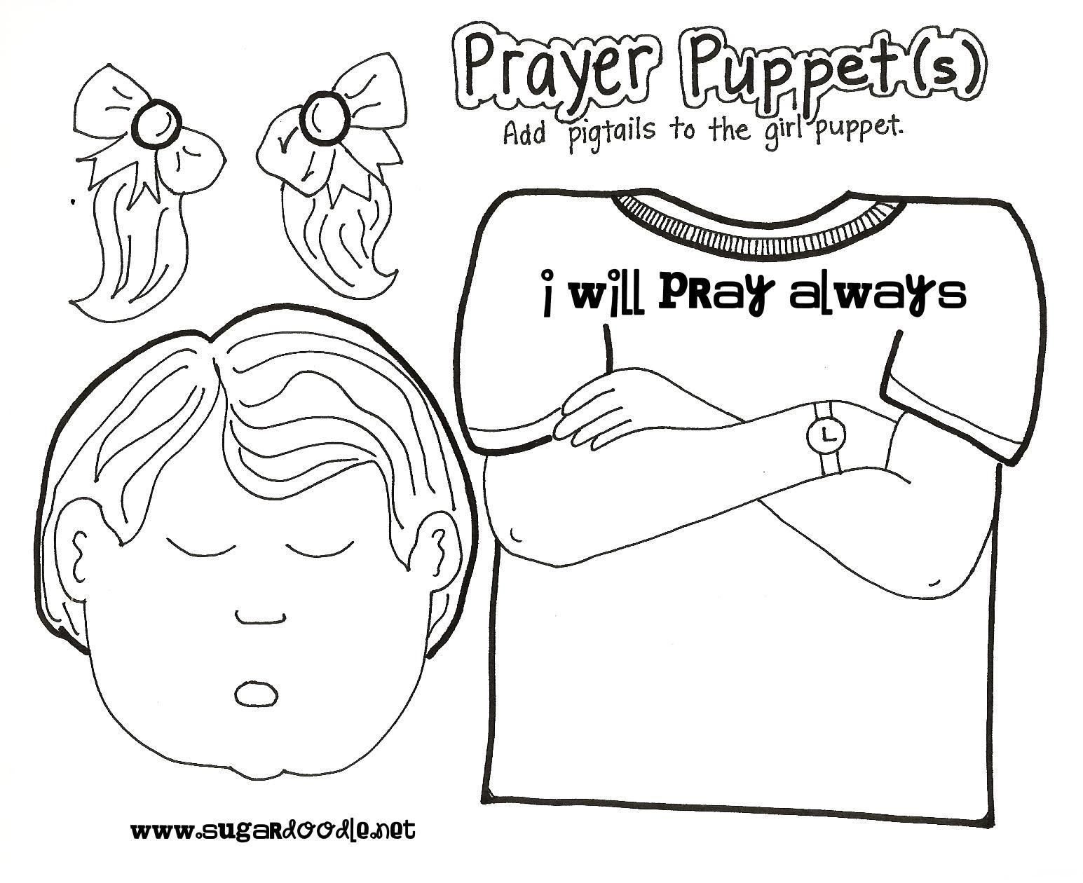 News with Naylors: Prayer (2): Prayer Puppets, Prayer