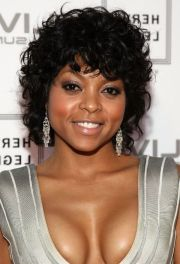 short curly afro haircuts black