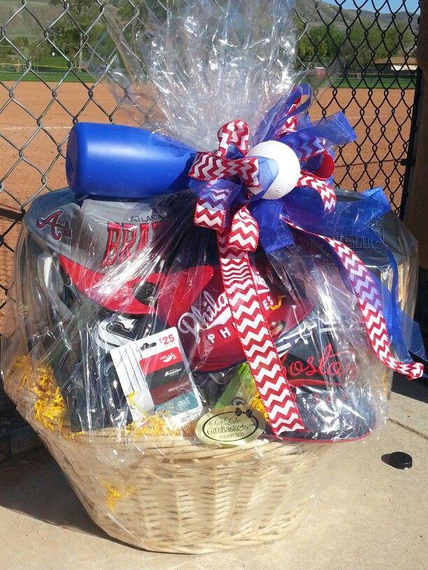 Ideas Baseball Themed Basket Raffle