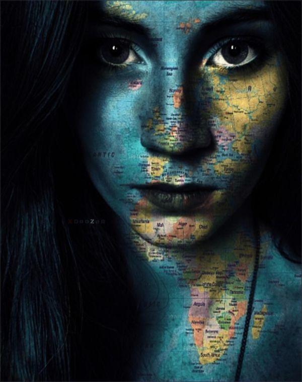 Edited With Picsart' Texture Mask Picsart Artist