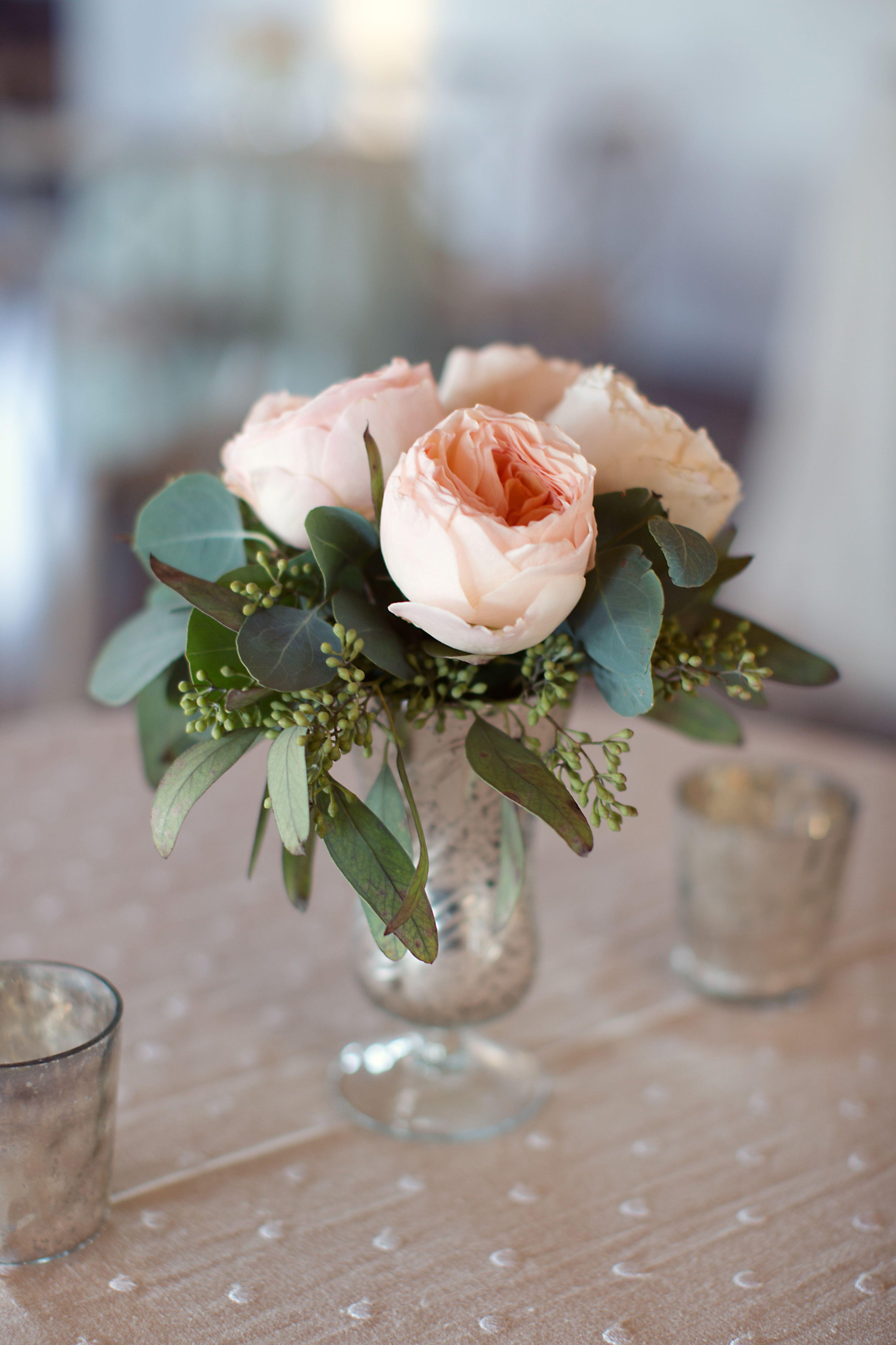 Urban English GardenInspired Wedding  Elegant table