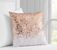 Sweet and Shiny: Rose Gold is Here to Stay | Gold pillows ...