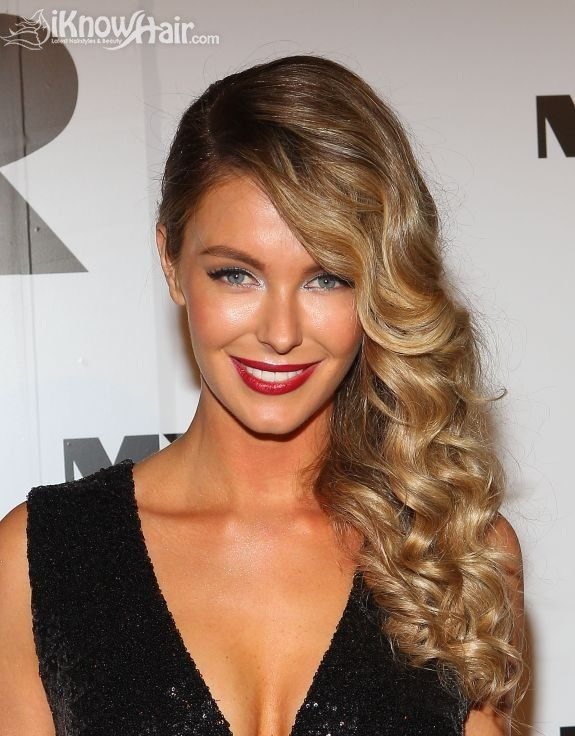 16 Trendy Celebrity Approved Sideswept Hairstyles Red Carpets