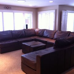 U Shaped Sofa Leather Right Arm Chaise 6s Glove Couch Set Up With A Matching