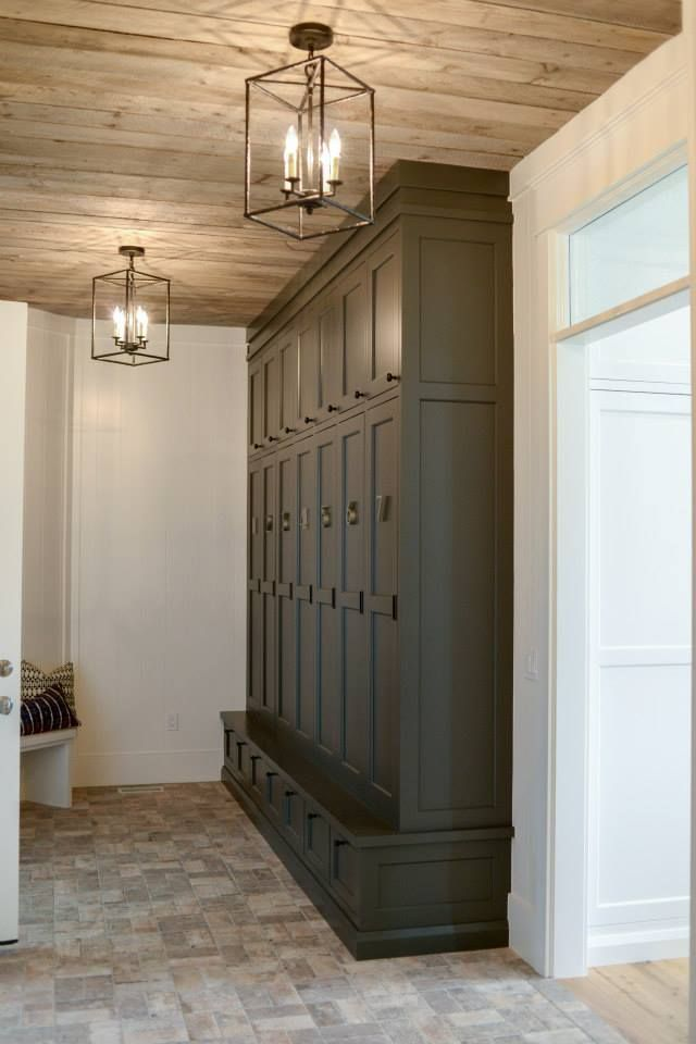 kitchen lighting fixtures for low ceilings red cherry cabinets beautiful storage space the laundry or mud room. ...