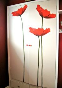 giant flower wall decals | ... transforamation project ...