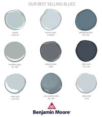 You know I love Benjamin Moore! Talking about all my ...