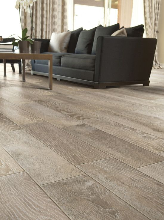 Modern Living Room Floor Tile That Looks Like Wood A