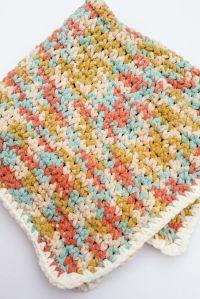 Easy Crochet Baby Blanket Pattern | Blanket and Blanket yarn
