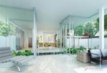 Modern Villa Interior - Designed Swiss Bureau