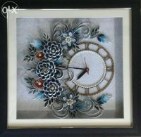 quilling on clocks - Google Search   Quilling Clocks ...