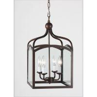 Ashley Antique Copper 4-light Foyer Hanging Lantern ...