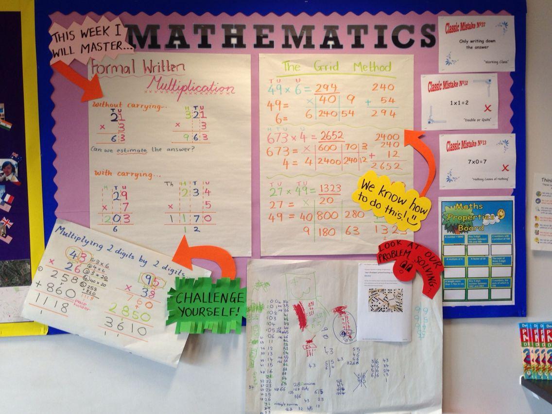 Outstanding Maths Lesson Multiplication Ks2