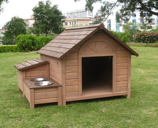 Stoppuppymills Love The Dog Dish Idea With This Dog House DIY