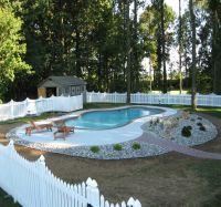 Low Maintenance Decorative Pool Design | Landscaping ...