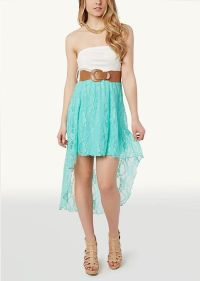 Cutout Ponte Lace High Low Dress | High Low | rue21 ...