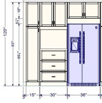 tall kitchen cabinets sizes | Roselawnlutheran