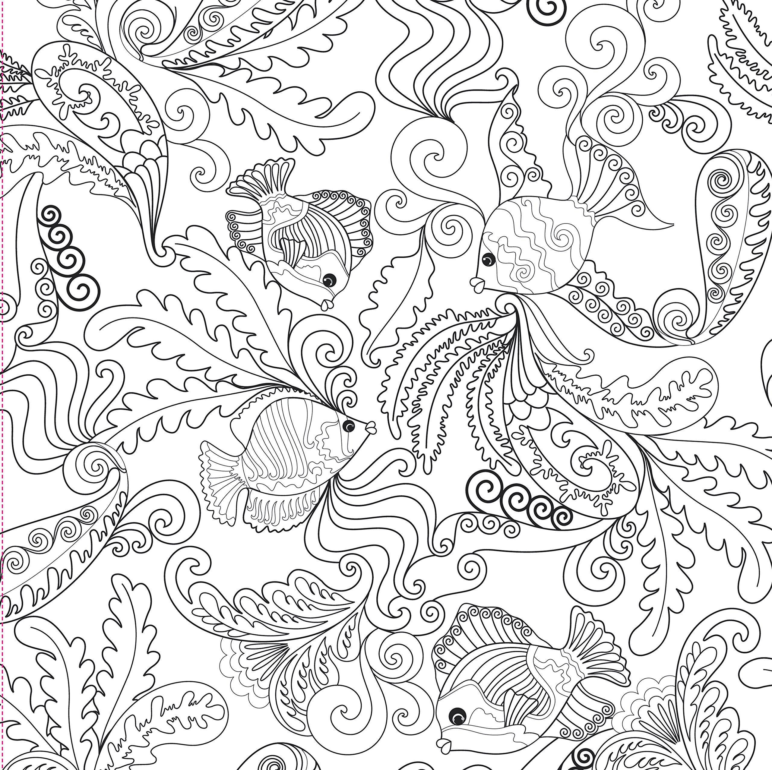 Ocean Designs Adult Coloring Book 31 Stress Relieving Designs Studio Peter Pauper Press