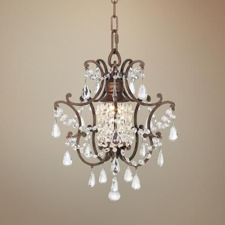 Mini Chandelier on Pinterest  Semi Flush Lighting Outdoor Wall Lighting and Outdoor Wall Sconce