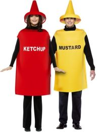 Ketchup and Mustard Couples Costumes - Party City. It ...