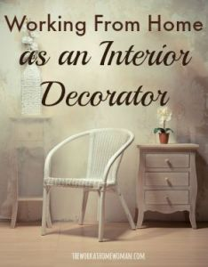 Have you considered interior decorating as  home based career option here   what also working from an decorator options rh pinterest