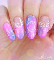 sailor moon nail art pinteres