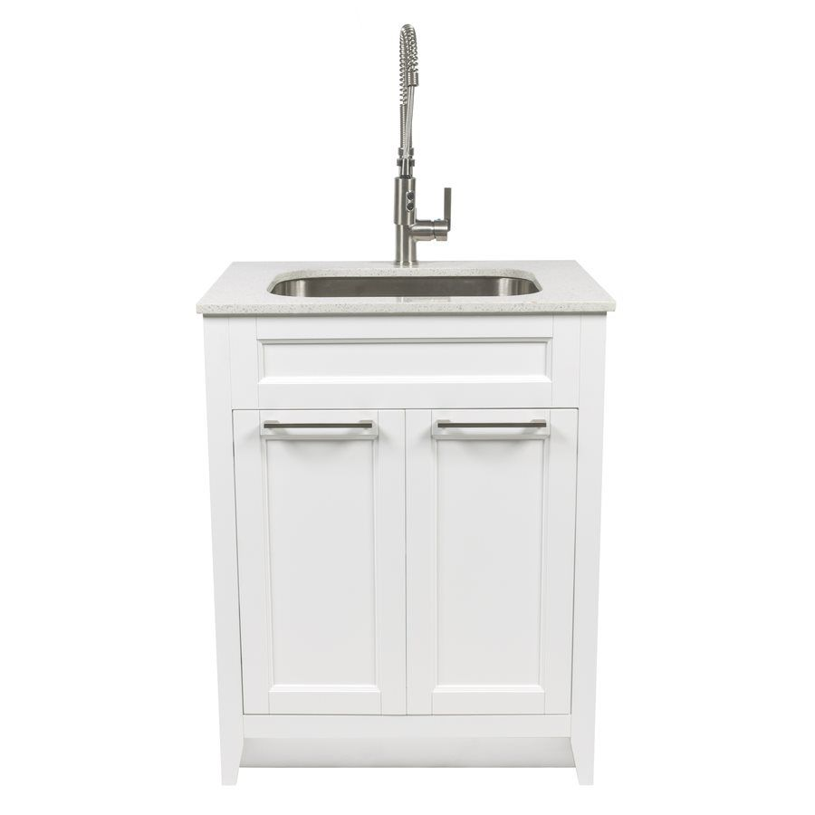 Shop Foremost Warner 29in x 22in White Laundry Cabinet