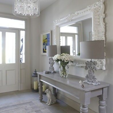 Modern Country Style Farrow And Ball Cornforth White Colour Case