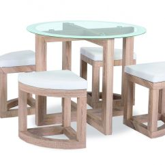 Glass Kitchen Table Sets Aid Professional 6000 Hd The Quarry Dining Set Is A Compact And Stool