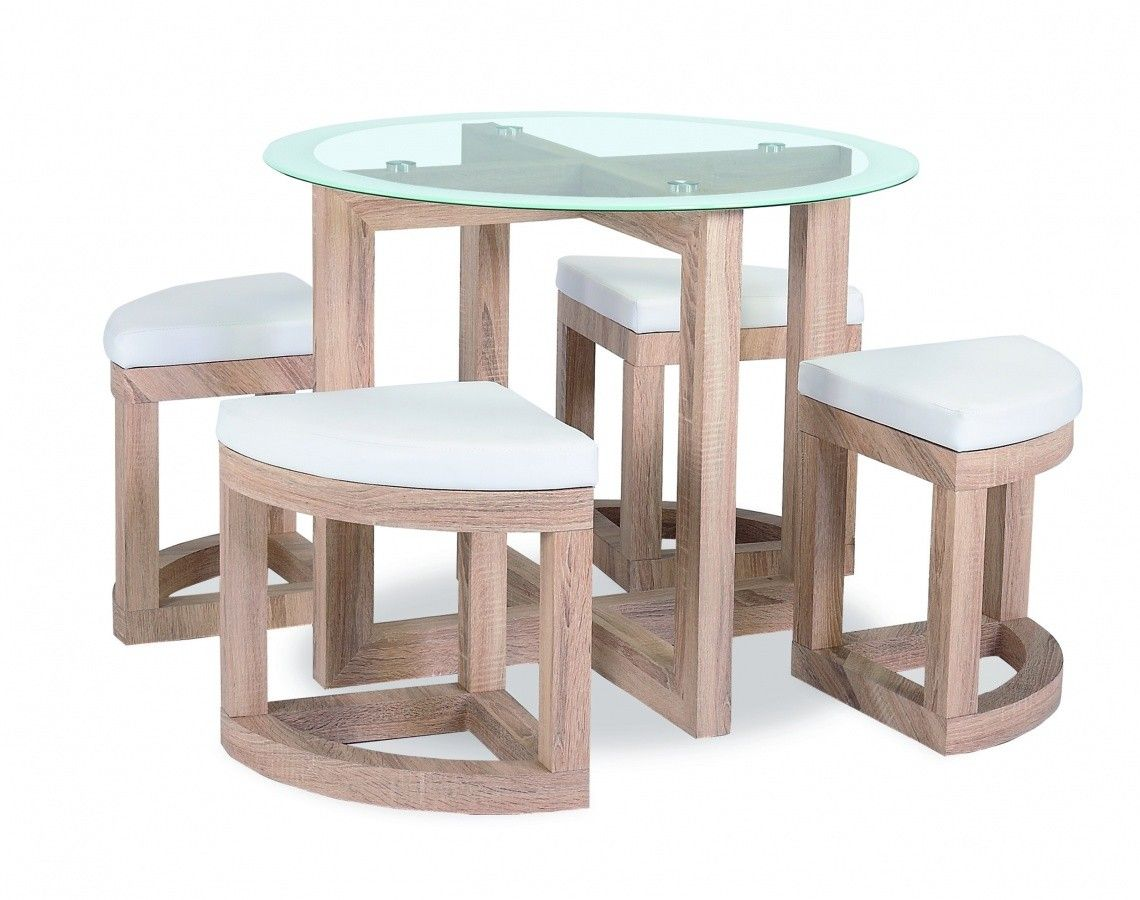 Table And Chairs Set The Quarry Dining Set Is A Compact Dining Table And Stool