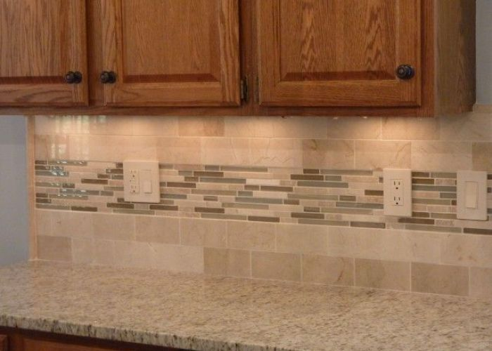Kitchen idea beautiful white glass tiles backsplash ideas with wooden cabinet and granite countertop design adorable also designs google search decorating pinterest
