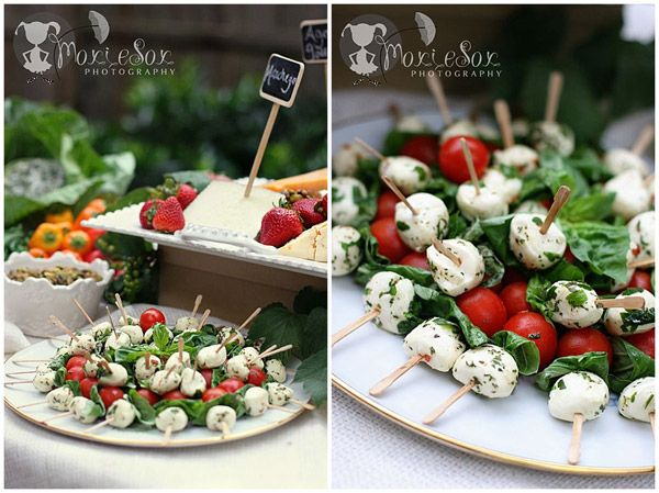 Rustic Garden Party Food #catering #partyideas So Nice For