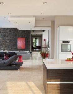 House lam massive renovation resulting in  modern contemporary residence designrulz also rh pinterest
