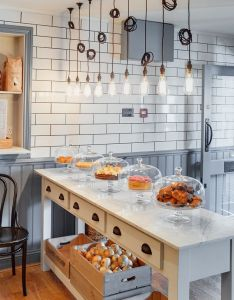 Woodford architecture restaurant cafe interior design kitchen also rh pinterest