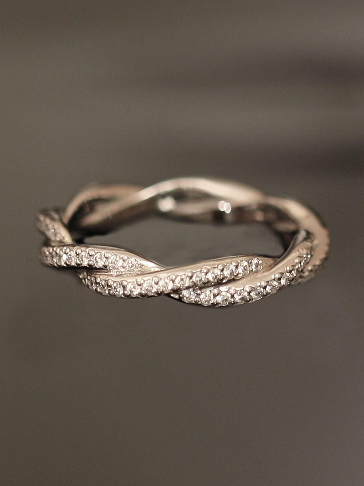 40 Gorgeous Wedding Bands For Women Eternity Bands
