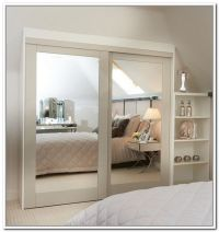 Stylishly Space-Saving Sliding Mirror Closet Doors | Home ...