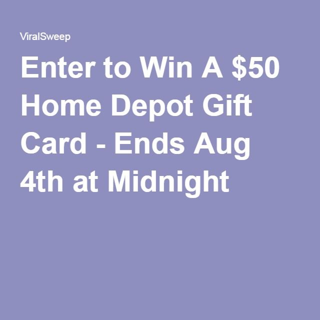 Enter to win  home depot  card ends aug th at midnight also rh pinterest