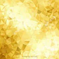 Golden Geometric Polygon Background Graphics   Gold ...