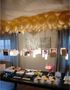 eye catching ways to use photos as party decorations also birthdays rh es pinterest