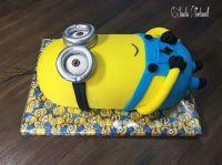 Minion Cake Kuchen Torte 3D Kevin | Kindergeburtstags ...