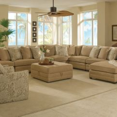 Big Sofas In Small Rooms Lazy Boy Sofa Cushion Covers Magnificent Large Sectional Family Room