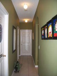 Lighting for a long narrow hallway