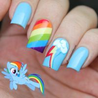 My Nail Art Journal: My Little Pony Nails Inspired | nail ...