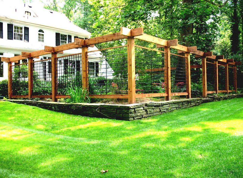 Vegetable Garden Fence Ideas Wood — Architectural Landscape Ideas