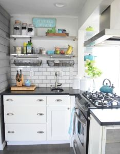 Take home designer series new england kitchen tour of  dietitian and her paleo granola also rh pinterest