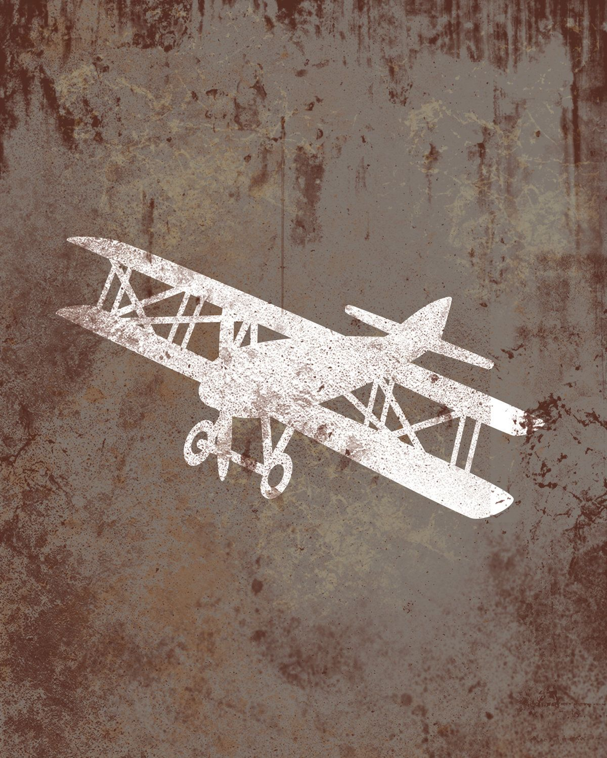 Vintage airplane aviation print series wall decor childs room nursery art also rh pinterest
